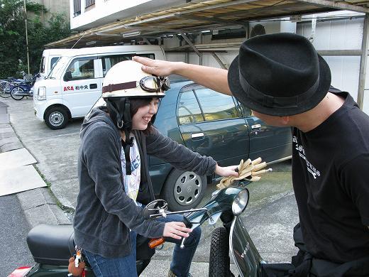 ベスパ教習。飴か鞭か? by KBの遠藤_f0225627_18535373.jpg