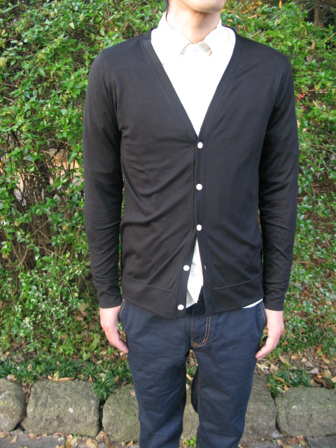 ◆Pure Wool Traditional Cardigan_e0142928_19513039.jpg
