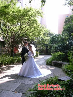 山の上ホテルの花嫁さん_c0043737_1154518.jpg