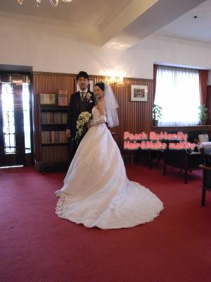 山の上ホテルの花嫁さん_c0043737_1157505.jpg