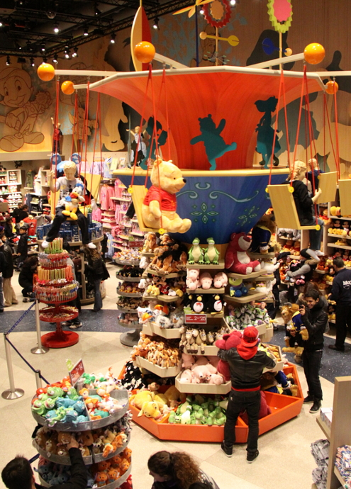 NYのタイムズ・スクエアに巨大ディズニー・ストアが新オープン!!!_b0007805_73317.jpg