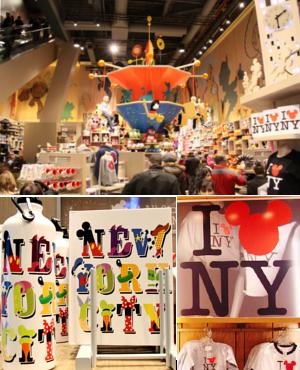 NYのタイムズ・スクエアに巨大ディズニー・ストアが新オープン!!!_b0007805_9111645.jpg