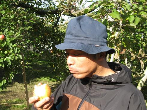 「林檎天国」で~~_a0125419_1012496.jpg