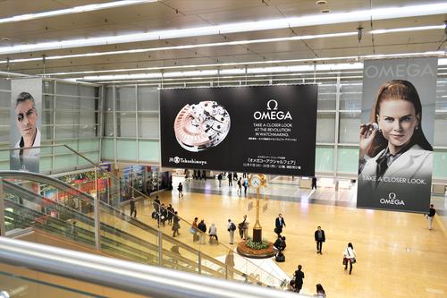 オメガ/JR名古屋駅で大型広告キャンペーン展開!_f0039351_23154850.jpg