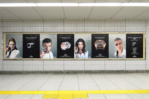 オメガ/JR名古屋駅で大型広告キャンペーン展開!_f0039351_23171633.jpg