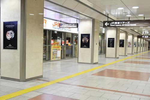 オメガ/JR名古屋駅で大型広告キャンペーン展開!_f0039351_23175138.jpg