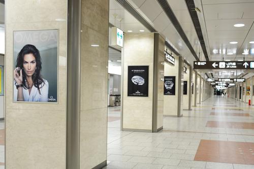 オメガ/JR名古屋駅で大型広告キャンペーン展開!_f0039351_23184123.jpg