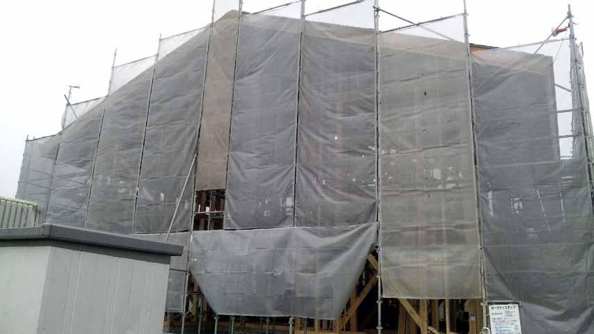 S邸「大沢新道の家」  工事中です。_f0150893_18463390.jpg