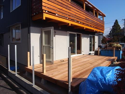 袴塚の家 仕上げ工事中 2010/11/12_a0039934_18252026.jpg