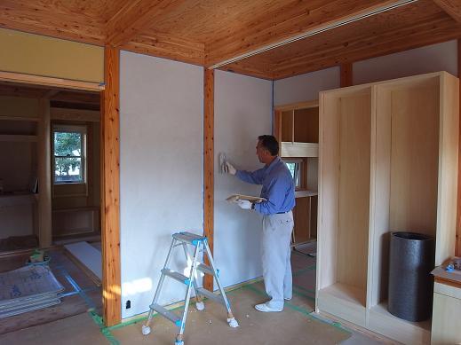 袴塚の家 仕上げ工事中 2010/11/12_a0039934_18271483.jpg