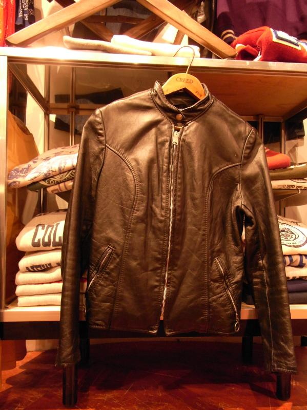 70\'s BROOKS LEATHER JACKET--RECOMMEND--_c0176867_20324450.jpg