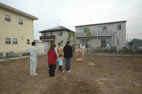 祝!地鎮祭 ~阿見町~_a0059217_1805255.jpg