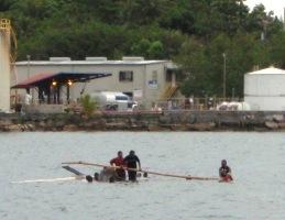 第二回ヤップ・カヌー・フェスティバル(2日目)-海上編_a0043520_23265998.jpg