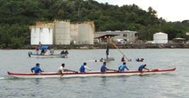 第二回ヤップ・カヌー・フェスティバル(2日目)-海上編_a0043520_2328258.jpg