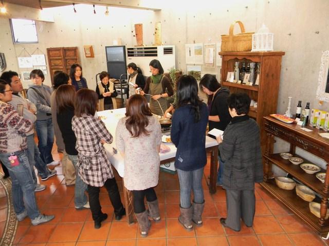 パワジオ倶楽部でのお料理教室2日目_c0213220_1830648.jpg