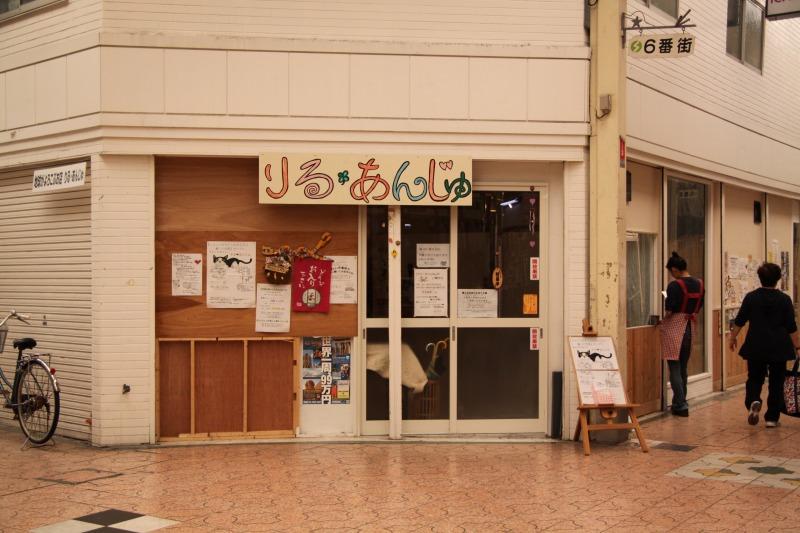 尼崎市出屋敷「キャット★カフェ りる・あんじゅ」_d0167436_6245158.jpg