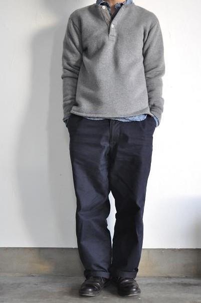 OMNIGOD/オムニゴッド シャンブレーワークシャツ/Chambray Work Shirt