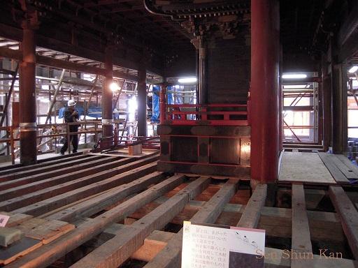 文化財建造物の保存修理 清水寺(朝倉堂) 2010年_a0164068_18135862.jpg