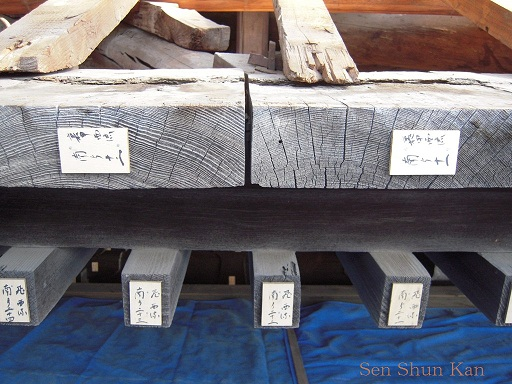 文化財建造物の保存修理 清水寺(朝倉堂) 2010年_a0164068_18172797.jpg