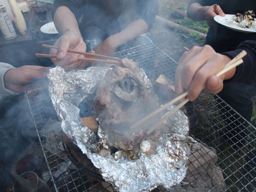 11月14日(日)  秋谷BBQ 2010年秋 (豪華な食材編)_f0167208_23454663.jpg