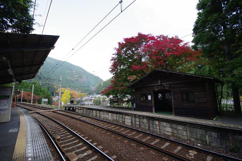 京都の紅葉2010 ~叡山電車・二ノ瀬駅~    と..._f0152550_22163686.jpg