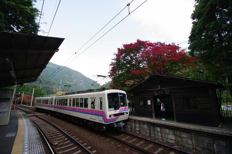 京都の紅葉2010 ~叡山電車・二ノ瀬駅~    と..._f0152550_22164330.jpg