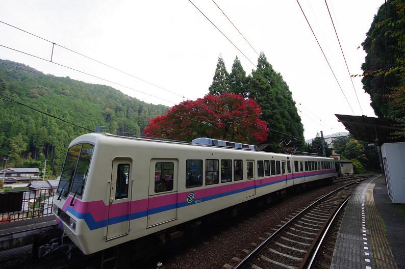 京都の紅葉2010 ~叡山電車・二ノ瀬駅~    と..._f0152550_22165594.jpg