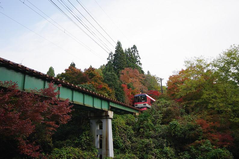 京都の紅葉2010 ~叡山電車・二ノ瀬駅~    と..._f0152550_22172351.jpg