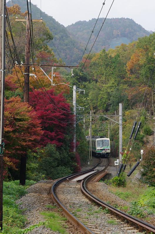 京都の紅葉2010 ~叡山電車・二ノ瀬駅~    と..._f0152550_22173633.jpg