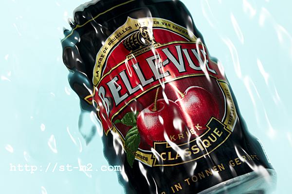 BELLE-VUE  さくらんぼ入りのベルギービール_a0002672_8505759.jpg