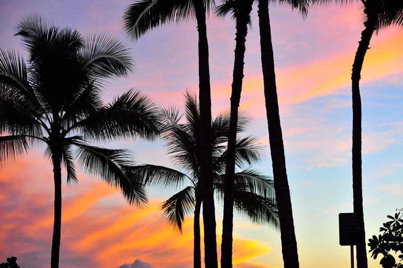 #10-236    Hawaii days ~ Waikiki Sunset_b0065572_8475556.jpg