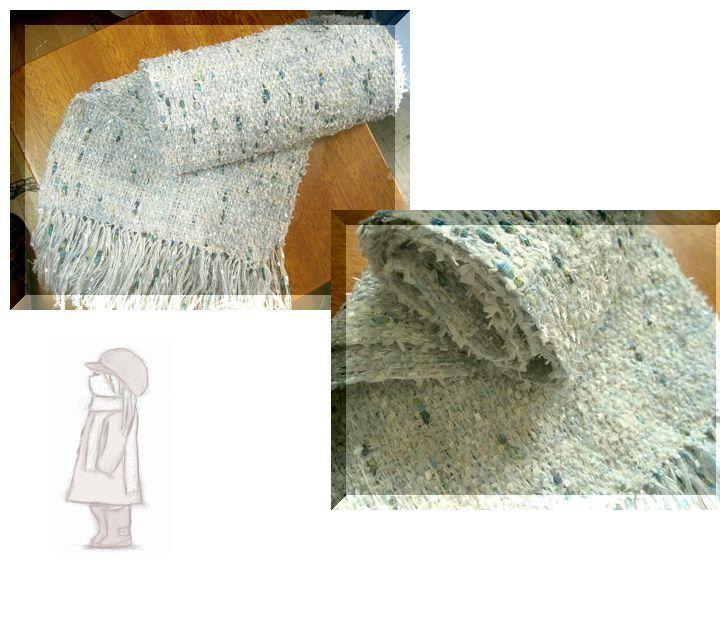 織りの手を休めて。。。ファンシー♪_c0221884_1482152.jpg