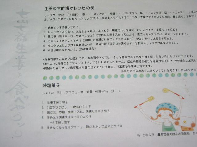 「七山七福生姜 1」_a0120513_1831369.jpg