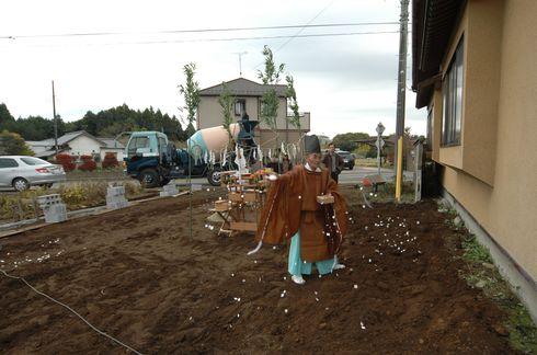 那珂市の家、地鎮祭。_a0059217_1425335.jpg