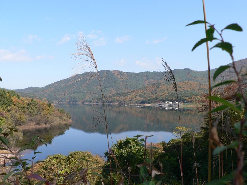 田瀬湖西(半)回りルート_d0001843_1015308.jpg