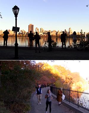 紅葉シーズンを迎えたセントラルパークより_b0007805_214851.jpg