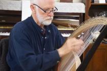 ライアー製作・奏者マリー・ライトさんfromオーストラリア&ライアー奏者・池末みゆきさん@まかなさん宅_f0006713_9301749.jpg