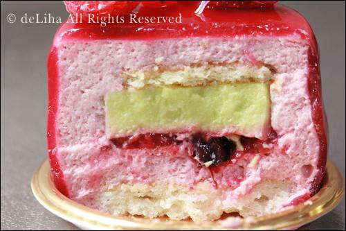『リベルターブル』・バジルとフリュイルージュのケーキ【グラース】_c0131054_101223100.jpg