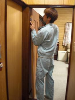 廊下を明るくする室内ドア_d0165368_7181915.jpg
