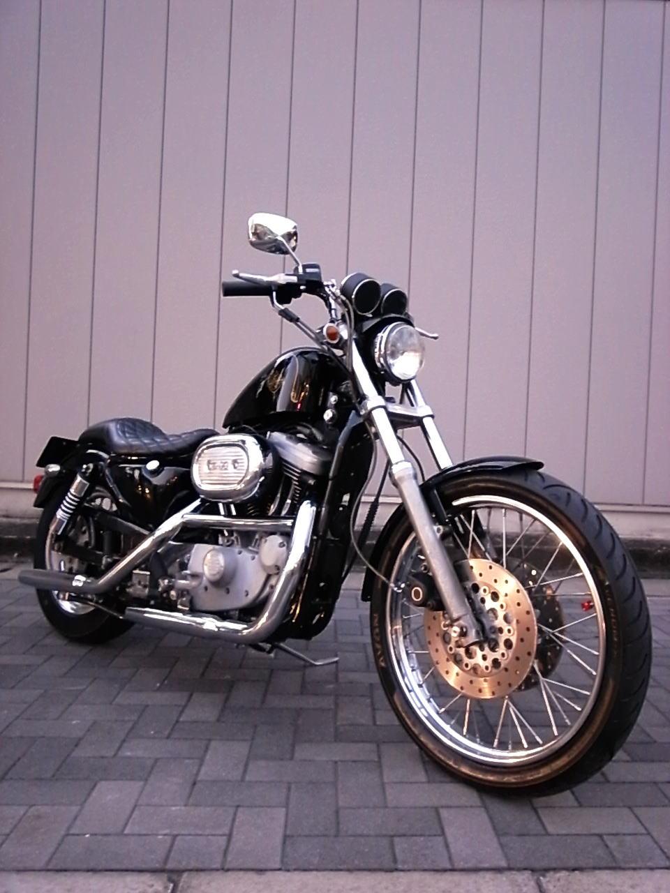 Harley Davidson XL1200S_b0160319_13275854.jpg