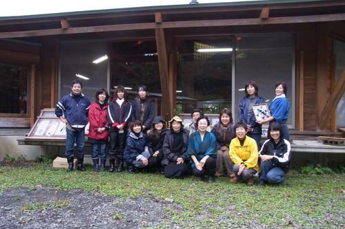 八ッ杉千年の森のイベント「和紙に炭を漉く」開催_e0061225_1414325.jpg
