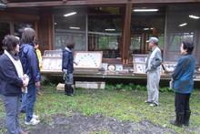八ッ杉千年の森のイベント「和紙に炭を漉く」開催_e0061225_14155816.jpg