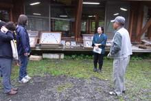 八ッ杉千年の森のイベント「和紙に炭を漉く」開催_e0061225_1416474.jpg