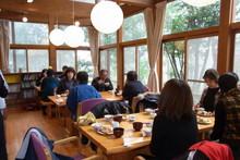 八ッ杉千年の森のイベント「和紙に炭を漉く」開催_e0061225_1425266.jpg