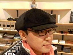 """「完成しましった!」 エコリメイク帽子 """"キャスケット""""タイプ 編 &オシャレな""""年賀状"""" 編_c0177259_1354236.jpg"""