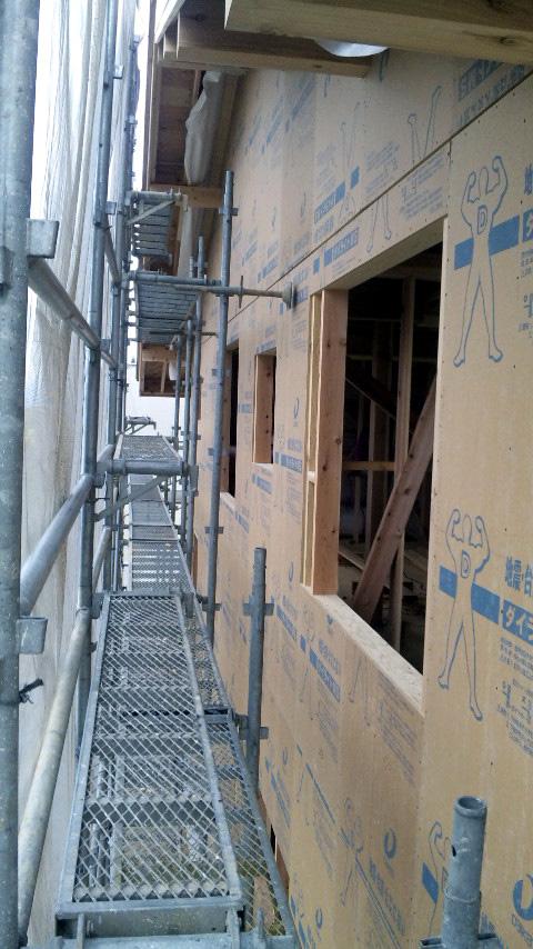S邸「大沢新道の家」  工事中です。_f0150893_1853255.jpg