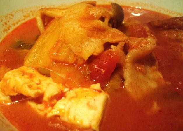 野菜たっぷりトマト煮込みスープ☆_c0151965_2254490.jpg