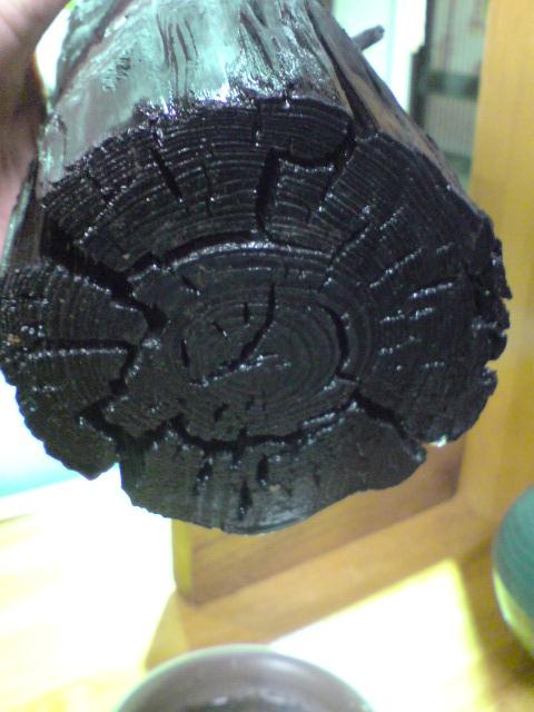 炭のプランター。_d0182179_208695.jpg