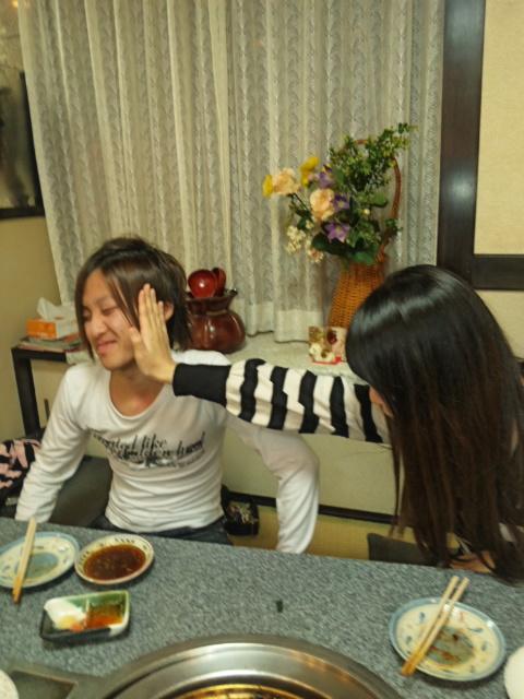 フライト食事会_f0171279_2103330.jpg