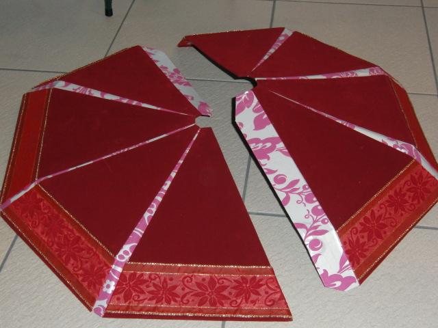 クリスマスツリースカート☆_f0214388_22425176.jpg